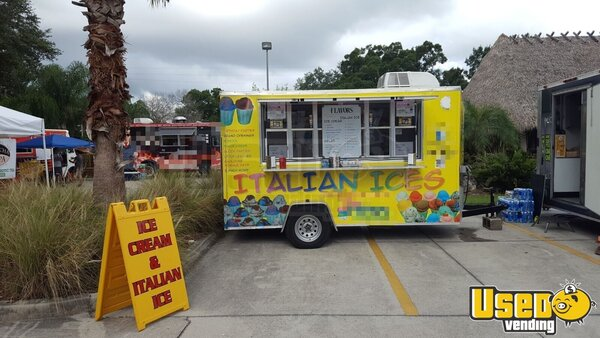 2014 Look Ice Cream Trailer Florida for Sale