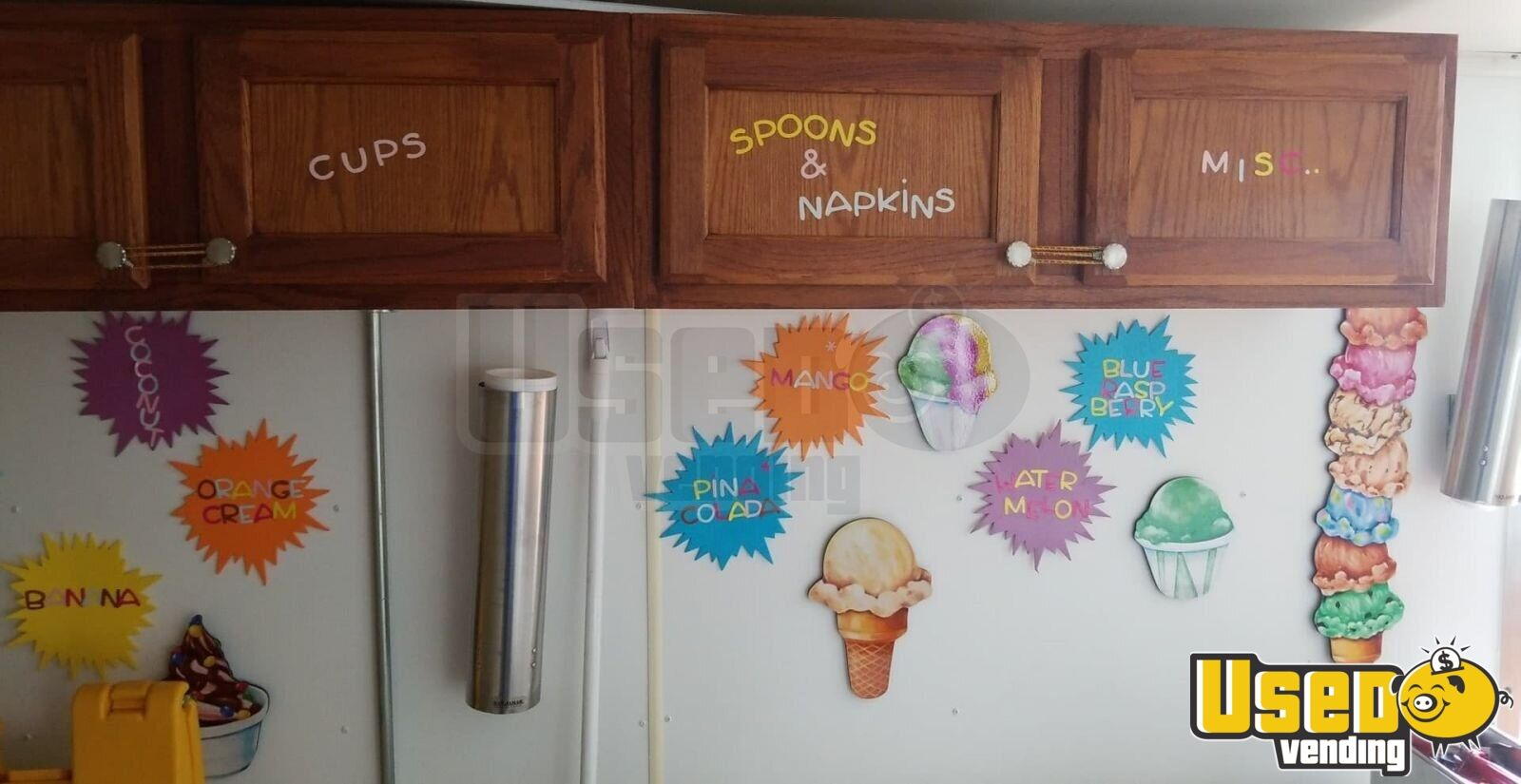 2014 Look Ice Cream Trailer Insulated Walls Florida for Sale - 6