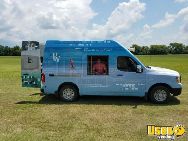 2014 Nissan Nv2500 Food Truck Texas Gas Engine for Sale