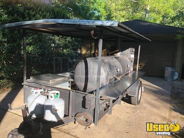 2014 Open Bbq Smoker Trailer Texas for Sale