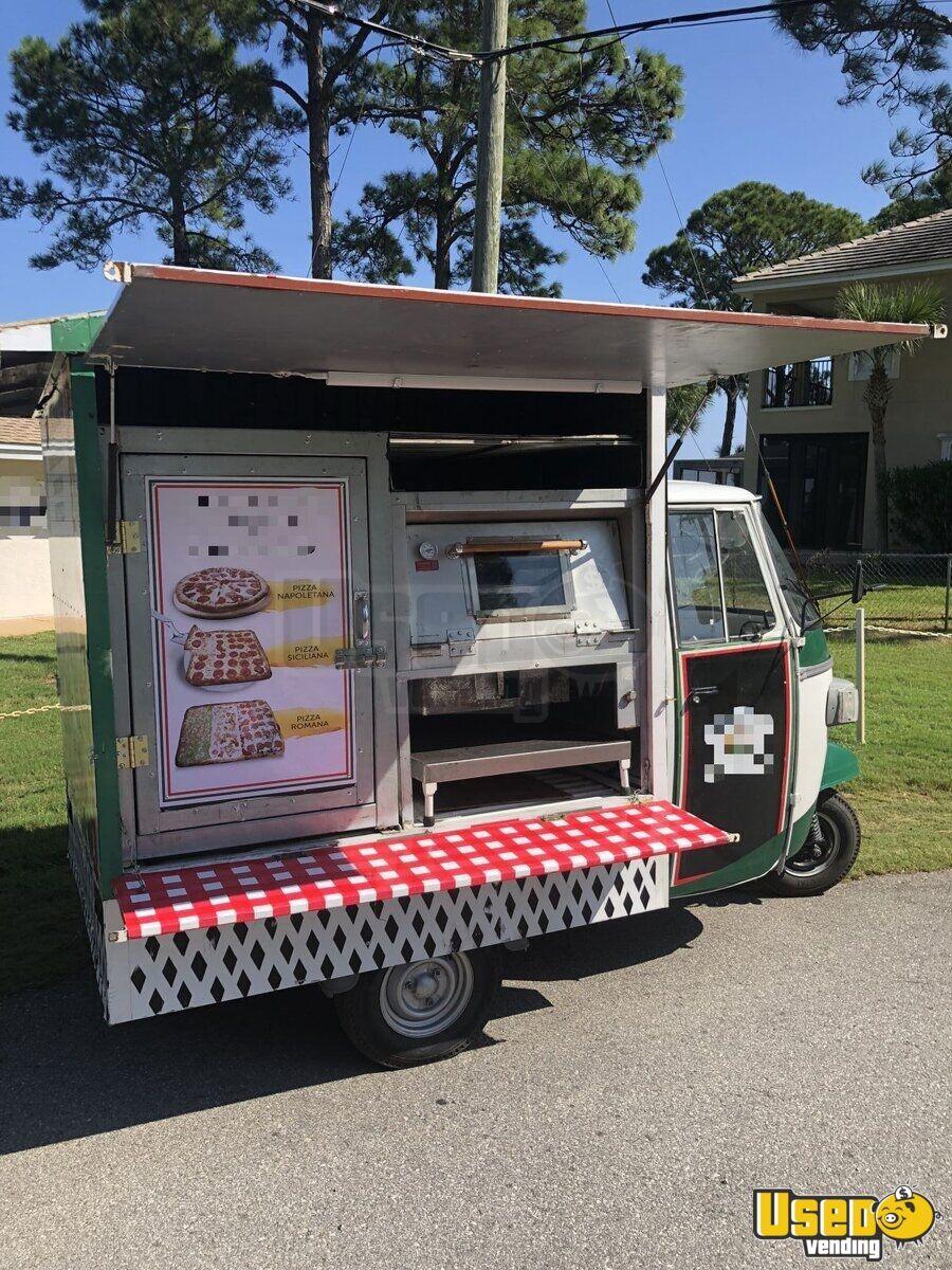 2014 Piaggio Mini Pizza Truck Used Food Truck For Sale