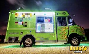 2014 T45 Step Van Ice Cream Truck Ice Cream Truck Florida Diesel Engine for Sale