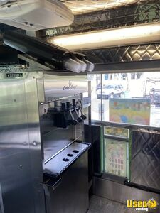 2014 T45 Step Van Ice Cream Truck Ice Cream Truck Upright Freezer Florida Diesel Engine for Sale