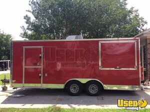 2014 Unmarked Food Concession Trailer Concession Trailer Air Conditioning Louisiana for Sale
