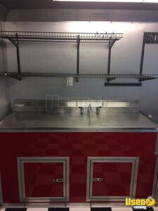 2014 Unmarked Food Concession Trailer Concession Trailer Fire Extinguisher Louisiana for Sale