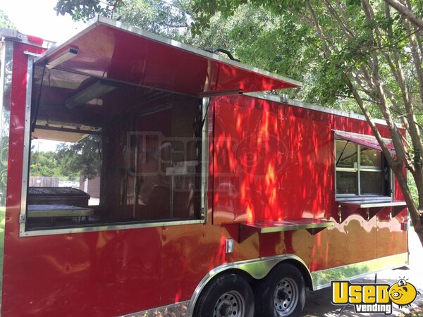 2014 Unmarked Food Concession Trailer Concession Trailer Louisiana for Sale