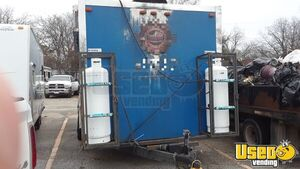 2014 Unmarked Kitchen Food Trailer Diamond Plated Aluminum Flooring Texas for Sale