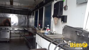 2014 Unmarked Kitchen Food Trailer Prep Station Cooler Texas for Sale