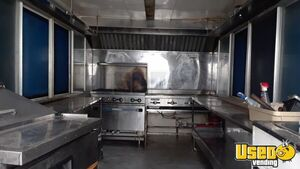 2014 Unmarked Kitchen Food Trailer Refrigerator Texas for Sale