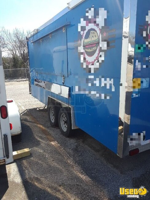 2014 Unmarked Kitchen Food Trailer Texas for Sale