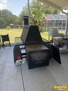 2015 12 Bbq Customs Open Bbq Smoker Trailer 3 Florida for Sale