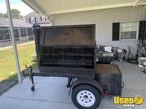 2015 12 Bbq Customs Open Bbq Smoker Trailer Florida for Sale