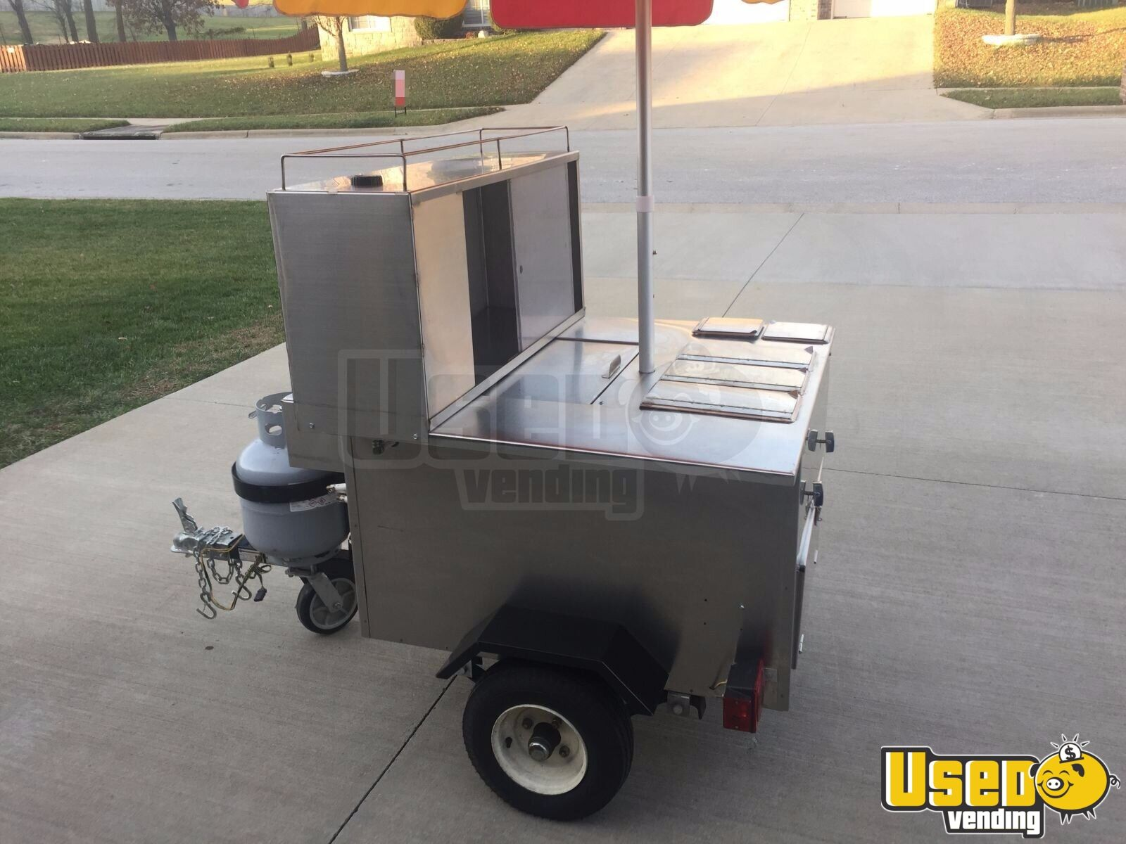 Chicago Style All American Hot Dog Vending Cart for Sale in Missouri!!!