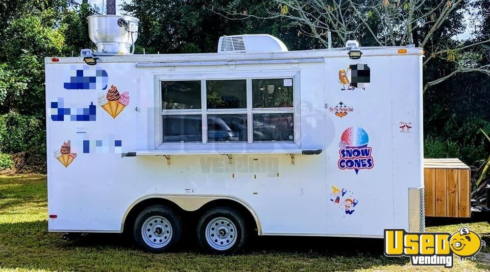2015 All-purpose Food Trailer Air Conditioning Florida for Sale - 2