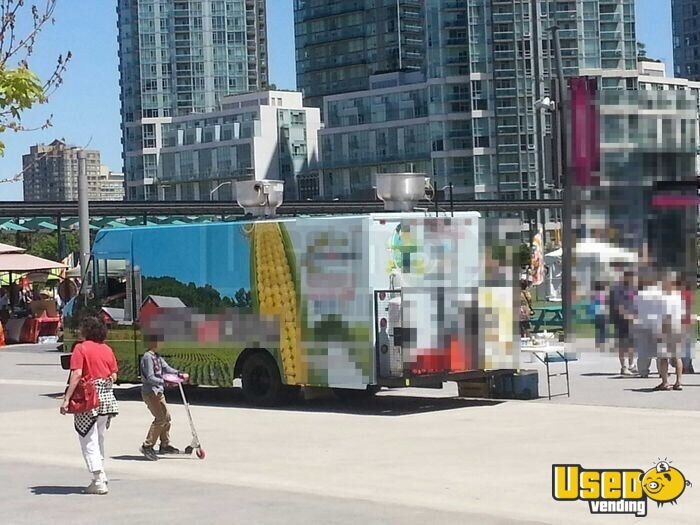 2015 All-purpose Food Truck Concession Window Ontario Diesel Engine for Sale - 3