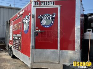 2015 Barbecue Concession Trailer Barbecue Food Trailer Exterior Customer Counter Oklahoma for Sale