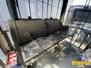 2015 Barbecue Concession Trailer Barbecue Food Trailer Hot Water Heater Oklahoma for Sale