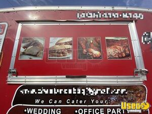 2015 Barbecue Concession Trailer Barbecue Food Trailer Insulated Walls Oklahoma for Sale