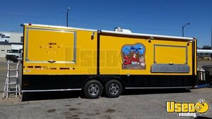 2015 Freedom 8.6' x 26' Barbecue Concession Trailer with Two Rooms for Sale in Oklahoma!!!