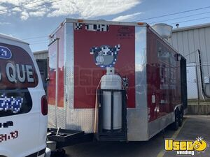 2015 Barbecue Concession Trailer Barbecue Food Trailer Propane Tank Oklahoma for Sale