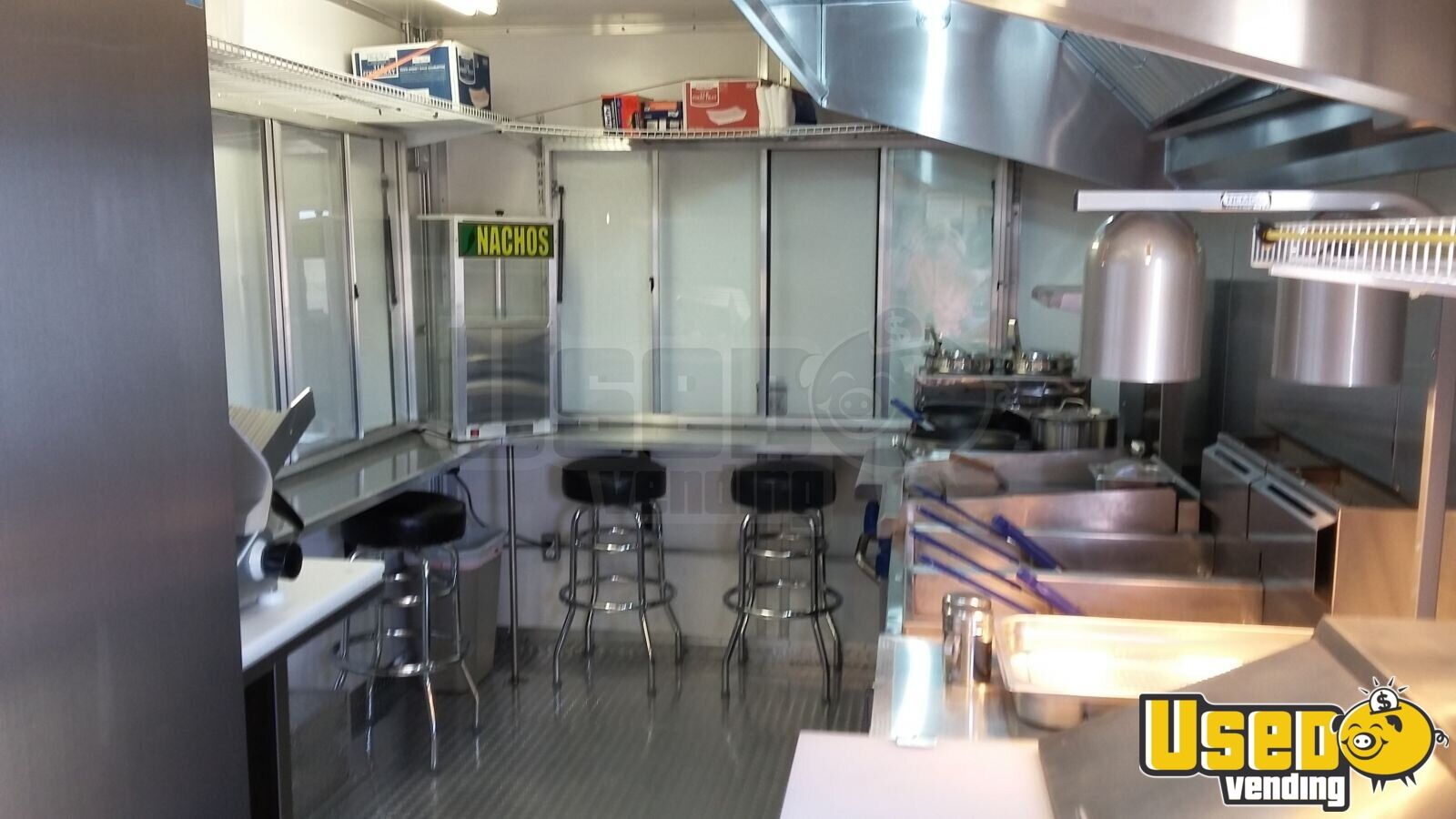 2015 Bestbilt Kitchen Food Trailer Concession Window Texas for Sale - 3