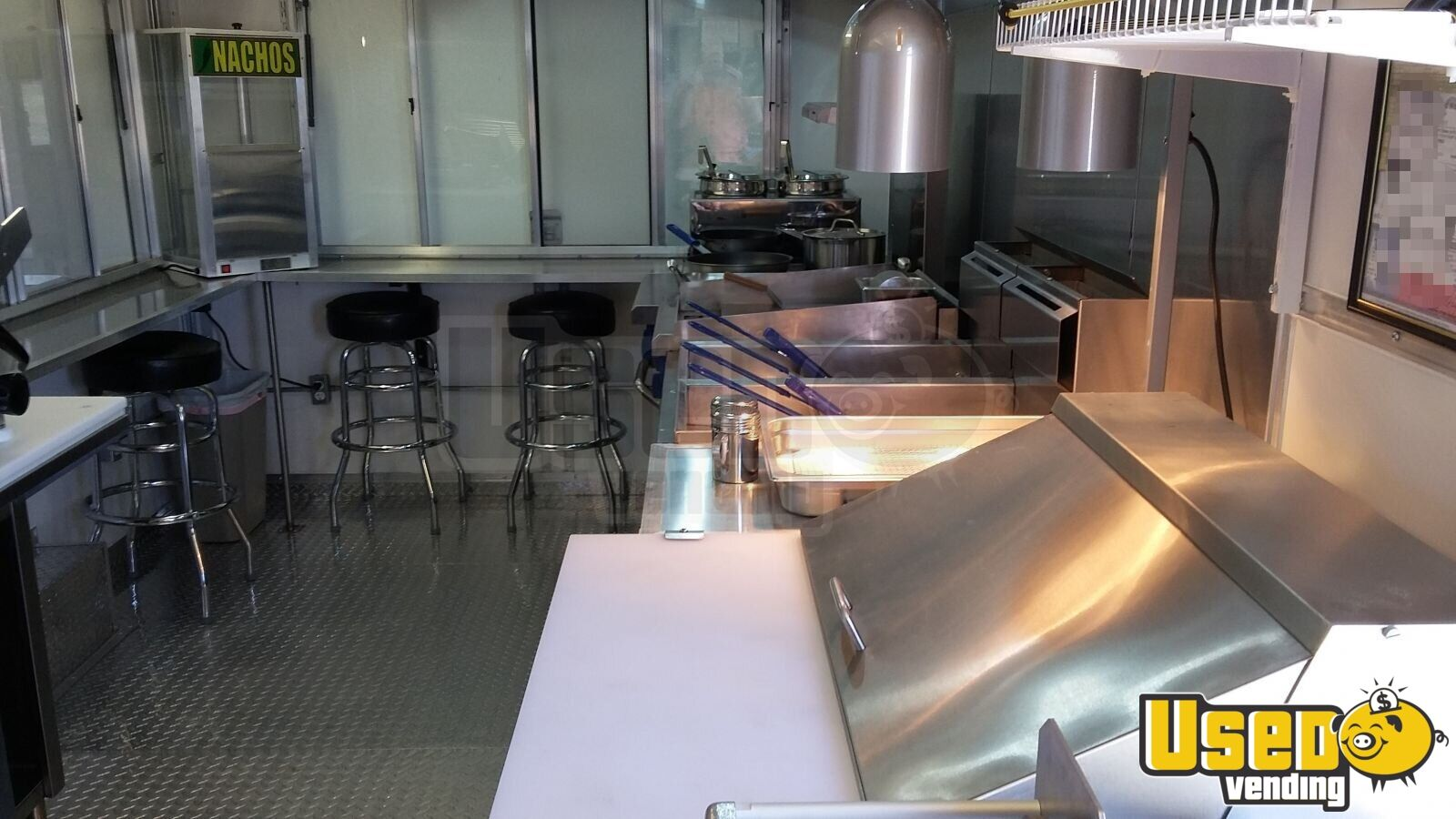 2015 Bestbilt Kitchen Food Trailer Stainless Steel Wall Covers Texas for Sale - 5