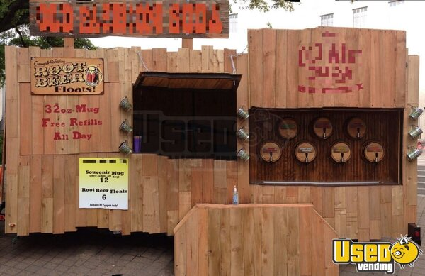 2015 Beverage Concession Trailer Beverage - Coffee Trailer Texas for Sale