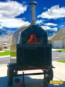 2015 Casa 2g80 Wood-fired Brick Oven Pizza Concession Trailer Pizza Trailer Utah for Sale