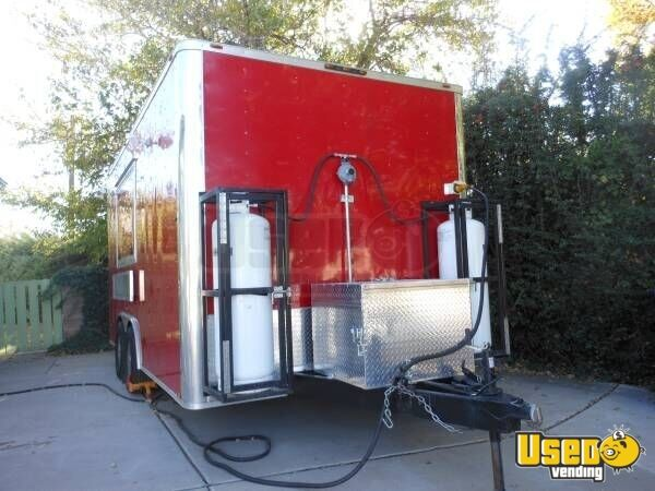2015 Custom Built Kitchen Food Trailer Cabinets New Mexico for Sale - 3
