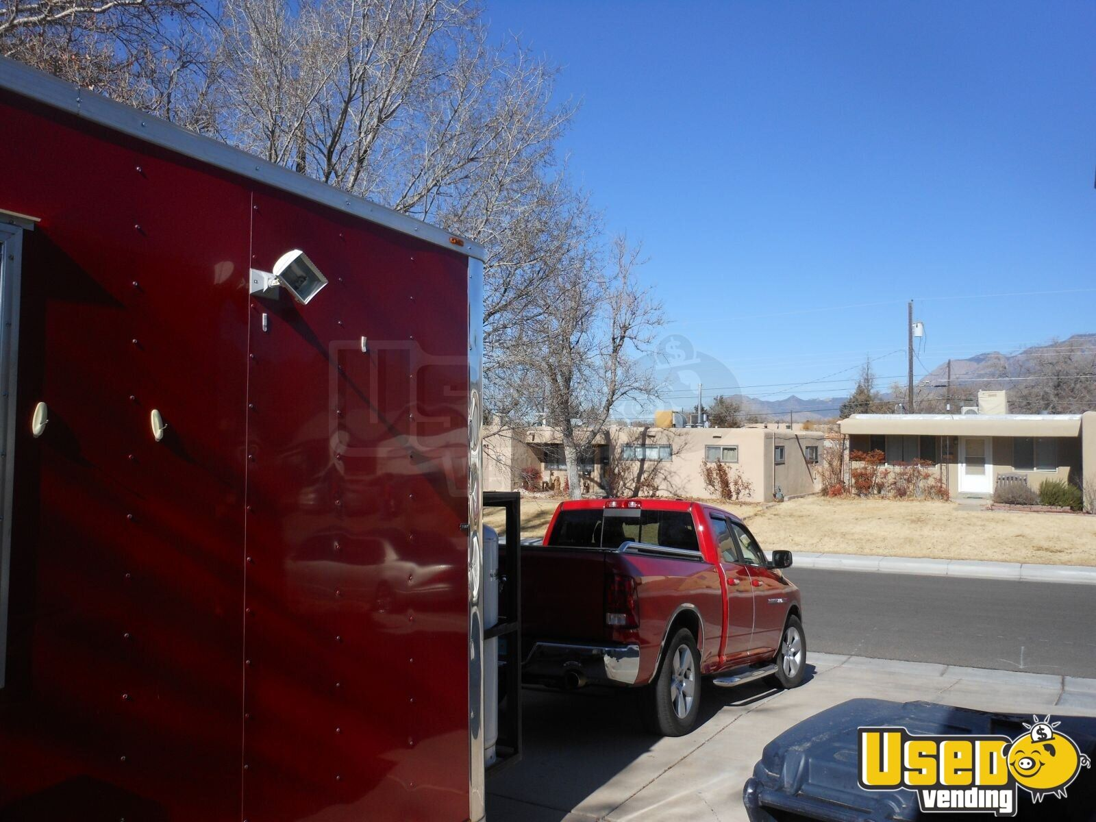 2015 Custom Built Kitchen Food Trailer Generator New Mexico for Sale - 5
