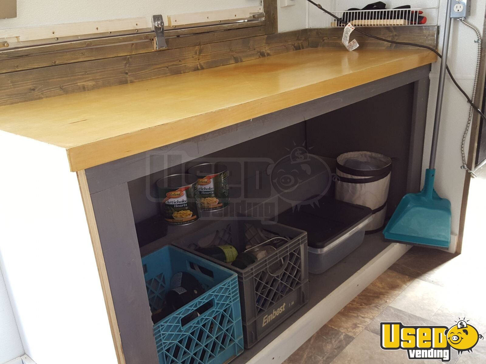 2015 Custom Concession Trailer Fresh Water Tank Colorado for Sale - 17