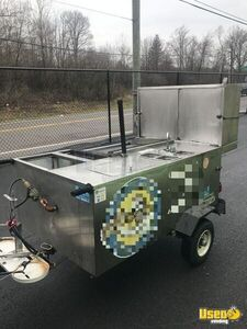 2015 Custom Food Cart Flat Grill Ohio for Sale