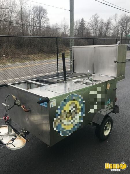 2015 Custom Food Cart Flat Grill Ohio for Sale - 2