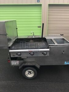 2015 Custom Food Cart Propane Tanks Ohio for Sale