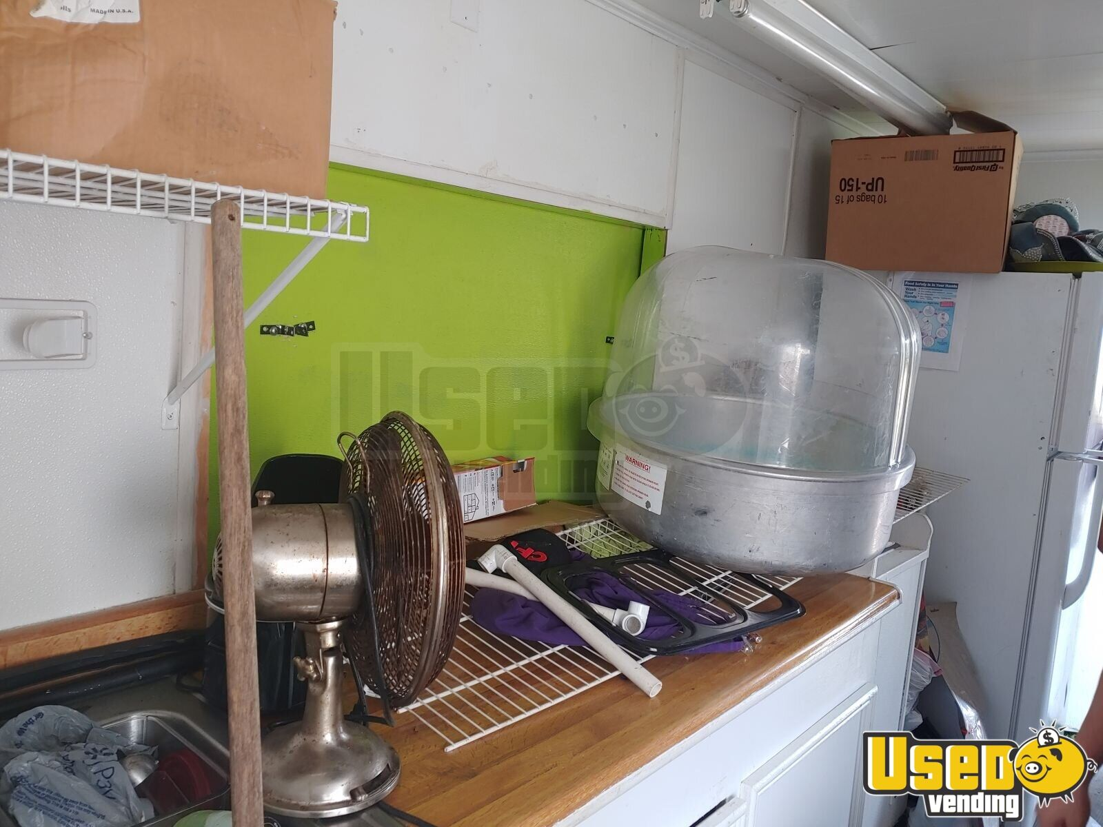 2015 Custom Kitchen Food Trailer Awning Texas for Sale - 6