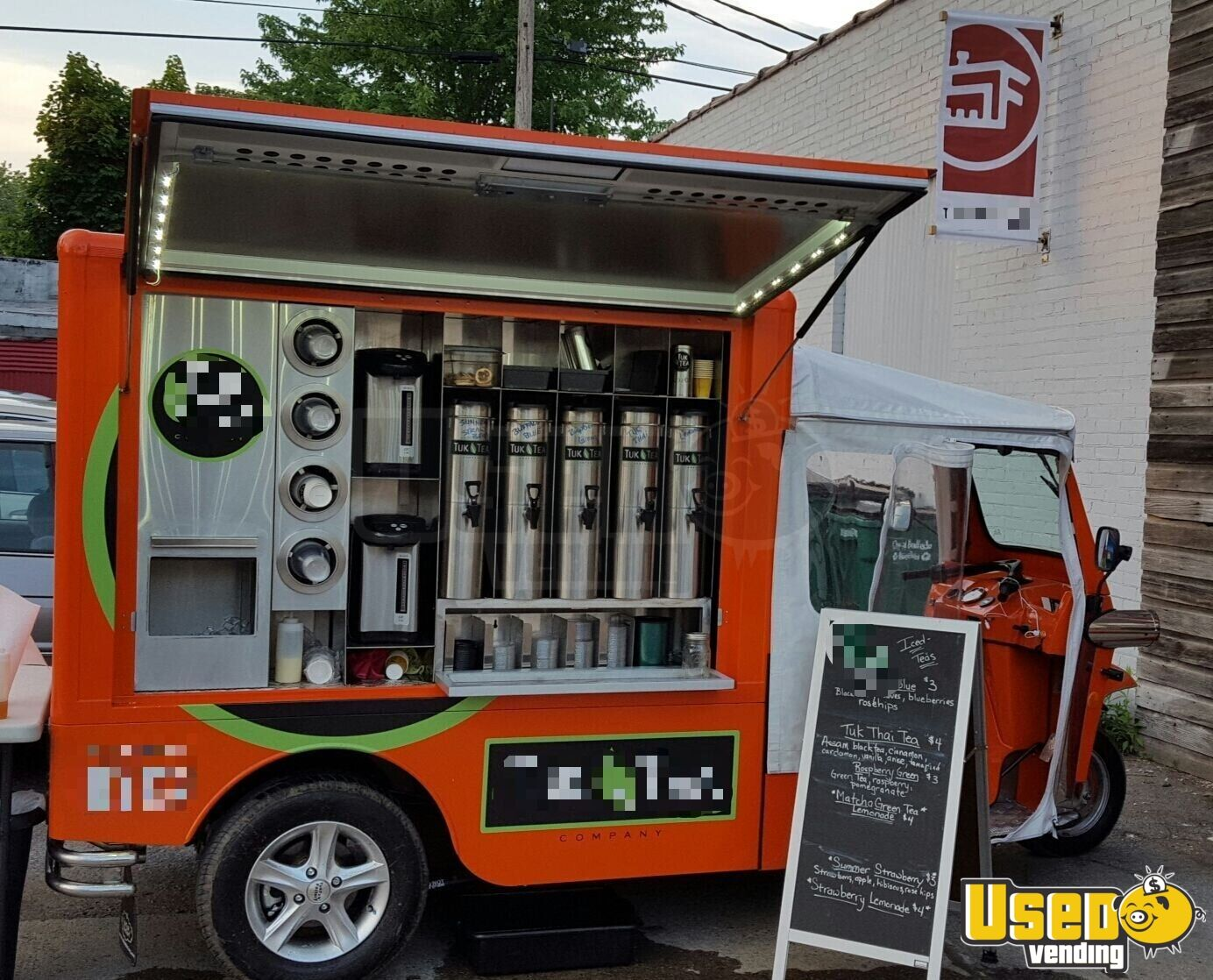 2015 Etuk Vendor Xl Coffee Truck Awning New York for Sale - 3