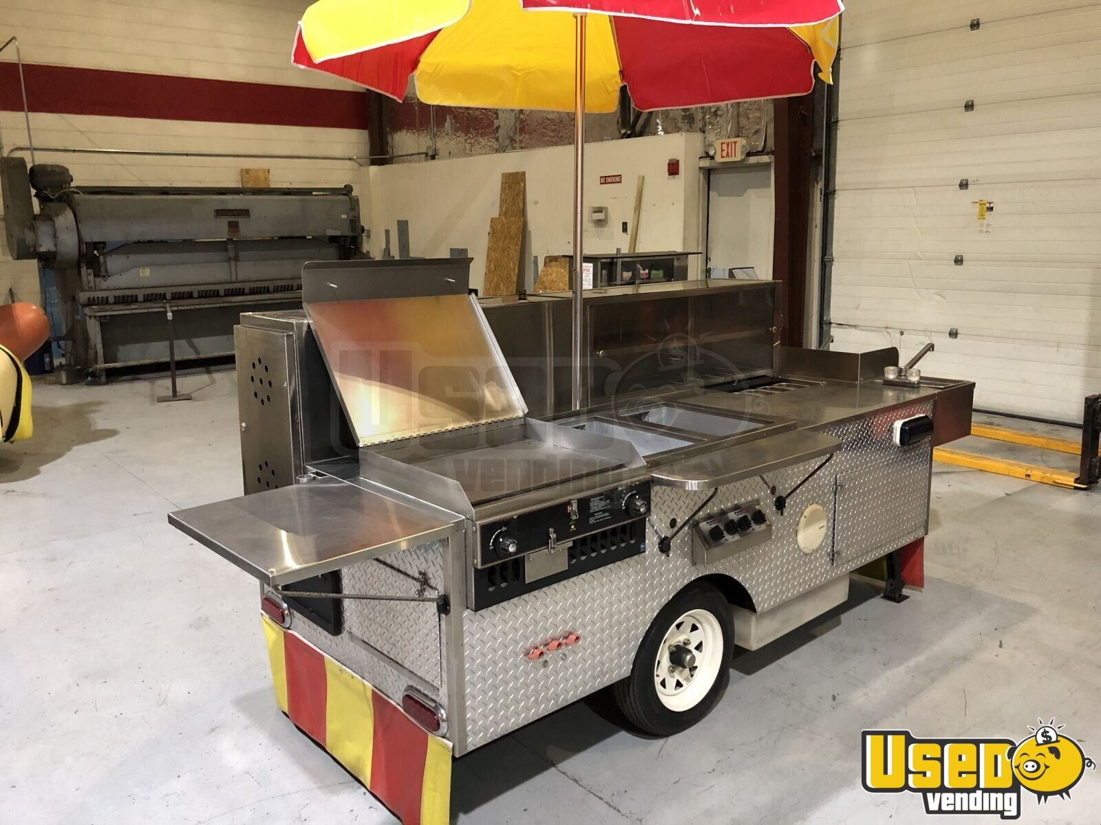 2015 Food Cart Flat Grill Florida for Sale - 3