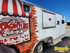 2015 Food Concession Trailer Concession Trailer Air Conditioning Oklahoma for Sale