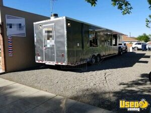 2015 Food Concession Trailer Concession Trailer Exterior Customer Counter California for Sale