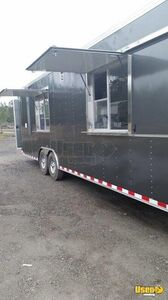 2015 Food Concession Trailer Concession Trailer Stainless Steel Wall Covers California for Sale
