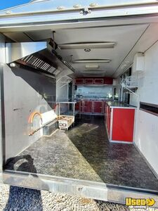 2015 Food Concession Trailer Concession Trailer Work Table Oklahoma for Sale