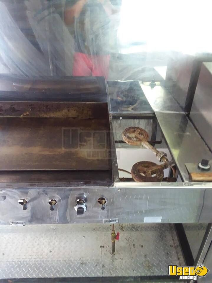 2015 Food Concession Trailer Kitchen Food Trailer Hand-washing Sink Texas for Sale - 10