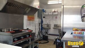 2015 Food Concession Trailer Kitchen Food Trailer Prep Station Cooler Utah for Sale