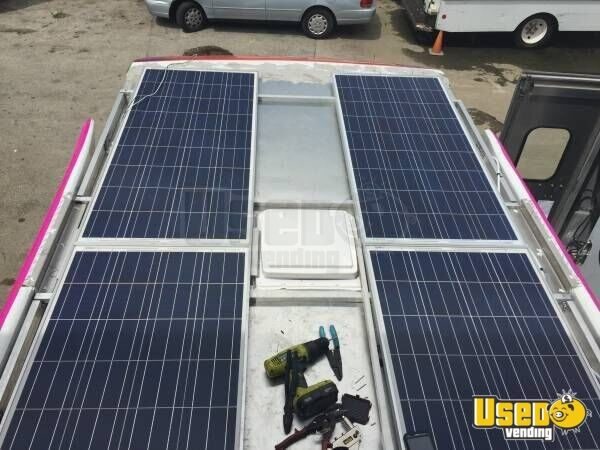 Solar Powered Ice Cream Shaved Ice Food Truck Mobile