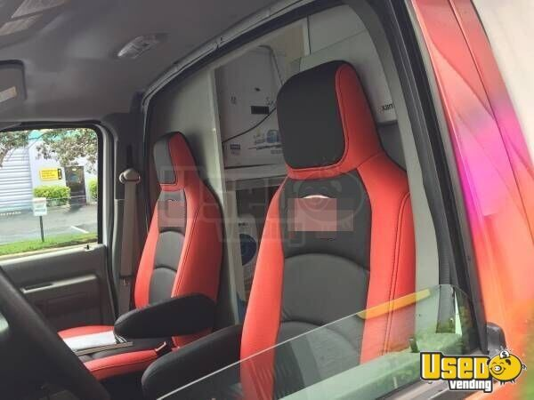 2015 Ford E350 Ice Cream Truck Hot Dog Warmer Texas for Sale - 7