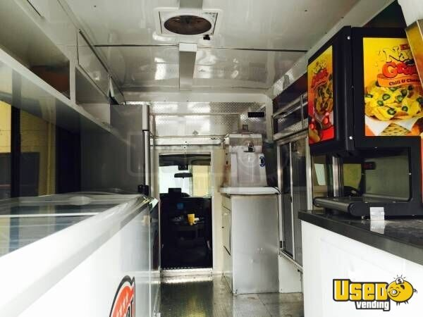 2015 Ford E350 Ice Cream Truck Solar Panels Texas for Sale - 3