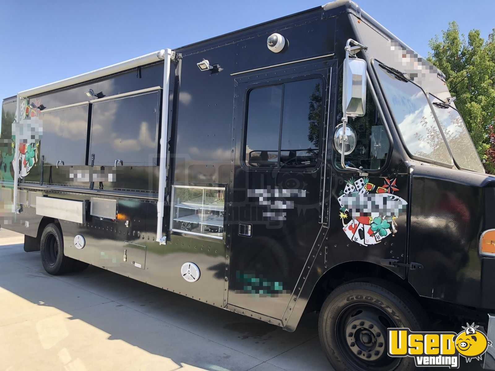 e5b7bddb92 Item No  CA-T-354C2. ‹ 2015 Ford F59 Step Van Food Truck Air Conditioning  California Gas Engine for Sale