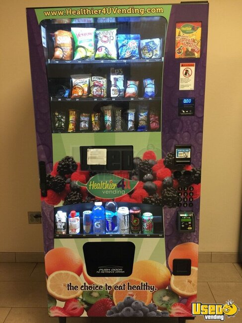 2015 Healthier 4 U Vending/ Model 3589 Healthier 4 U Combo Machine Florida for Sale