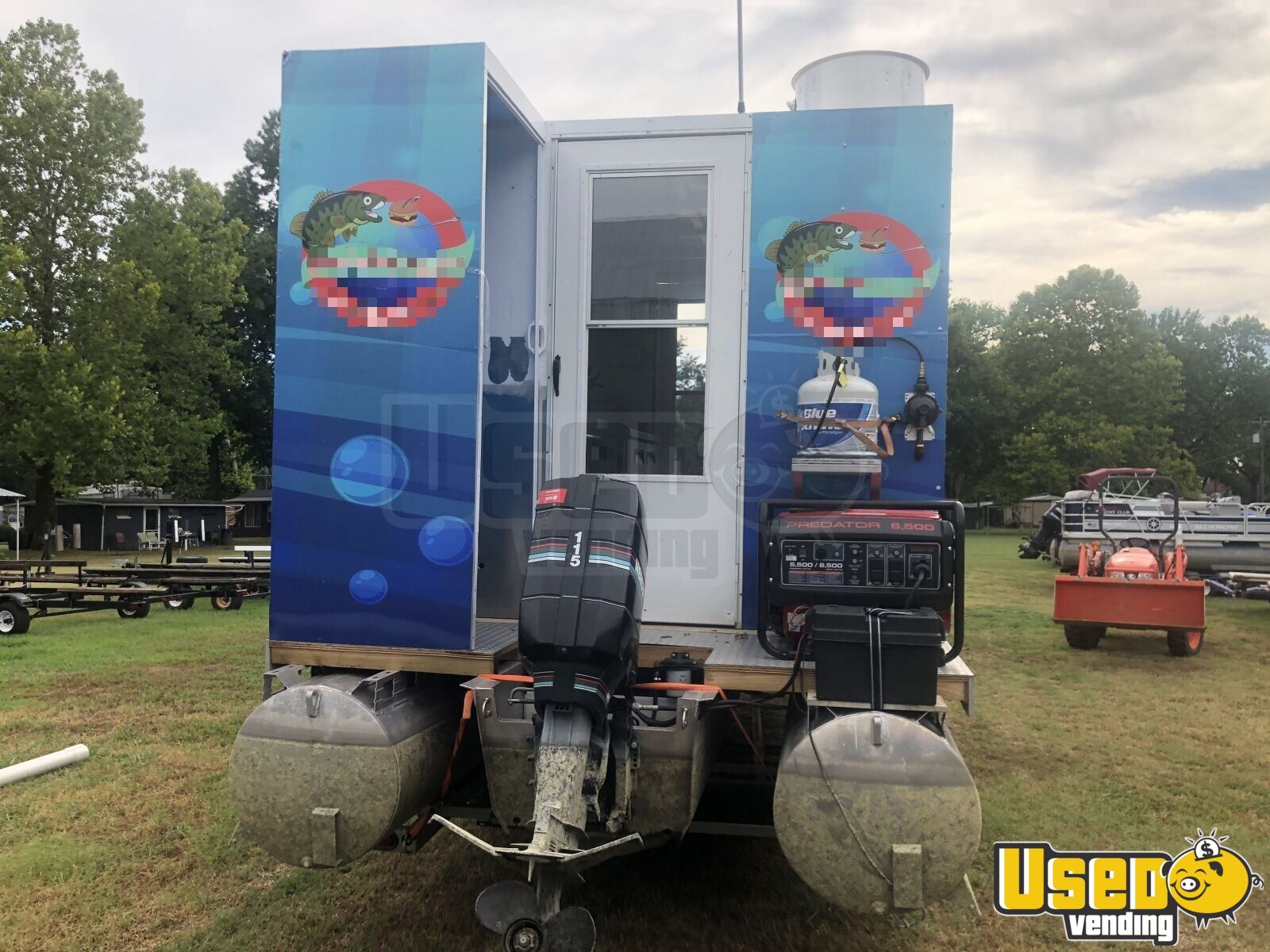 2015 Homemade All-purpose Food Truck Bathroom Oklahoma Gas Engine for Sale - 3