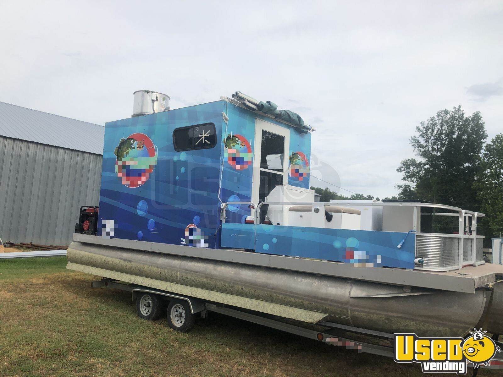 2015 - 24\' Food Concession Boat | Used Food Boat with Kitchen for ...